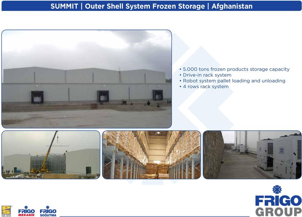 000 tons frozen products storage capacity