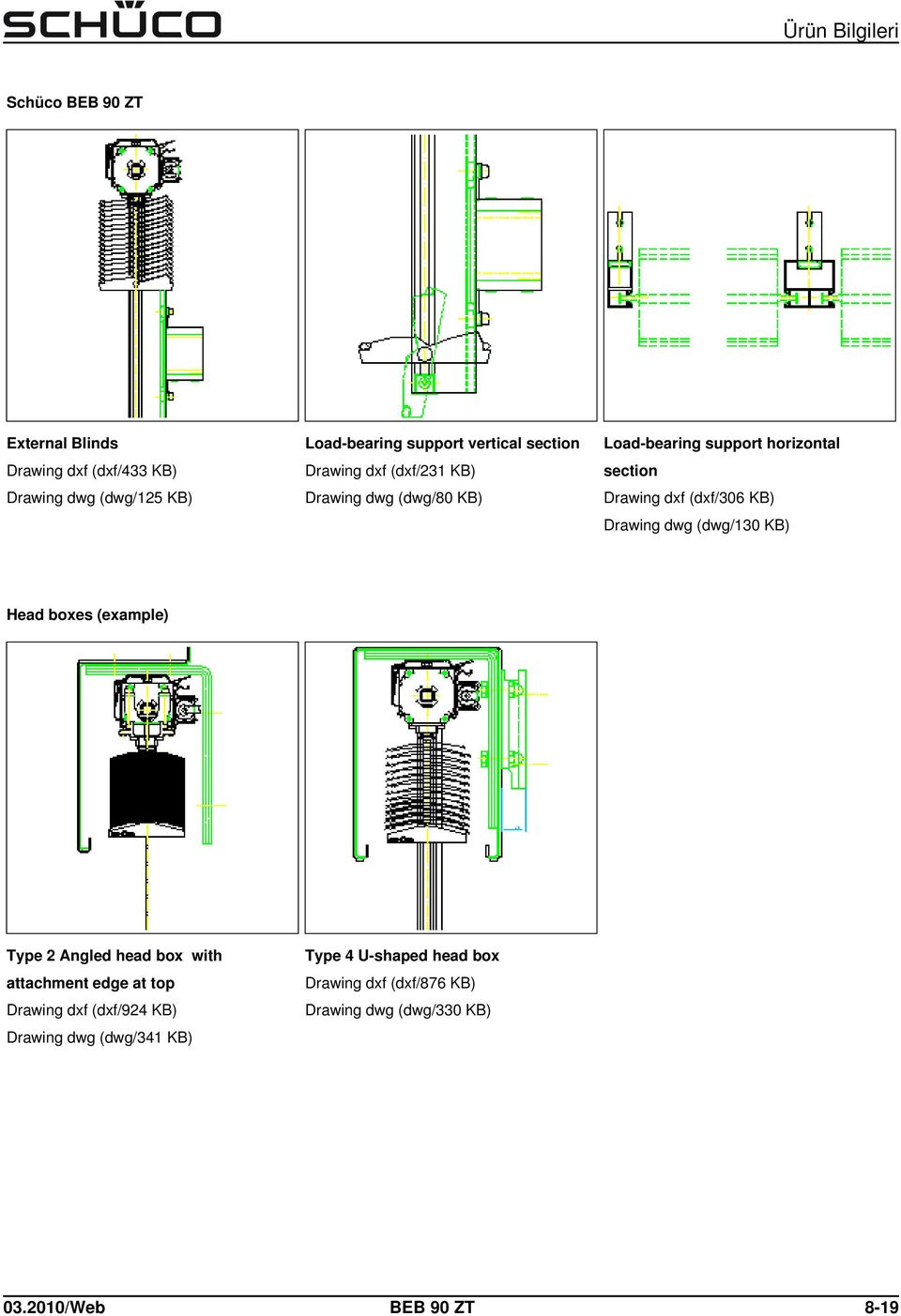 dwg (dwg/130 KB) Head boxes (example) Type 2 Angled head box with attachment edge at top Drawing dxf (dxf/924 KB)