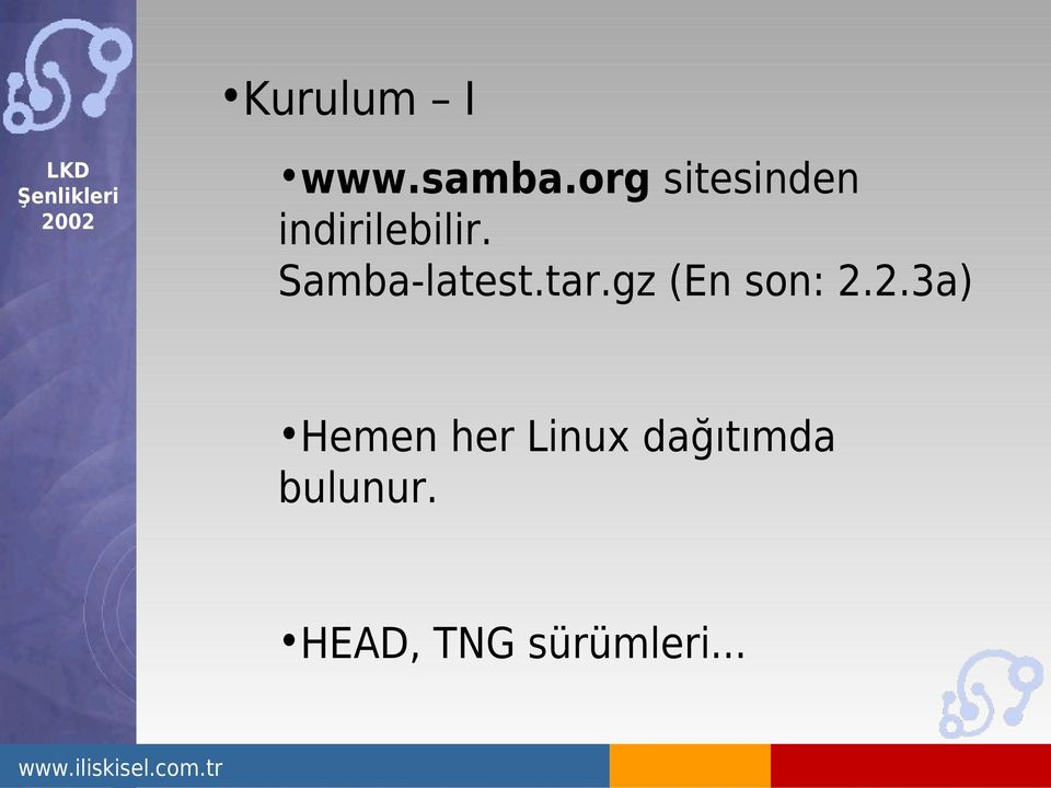 Samba-latest.tar.gz (En son: 2.