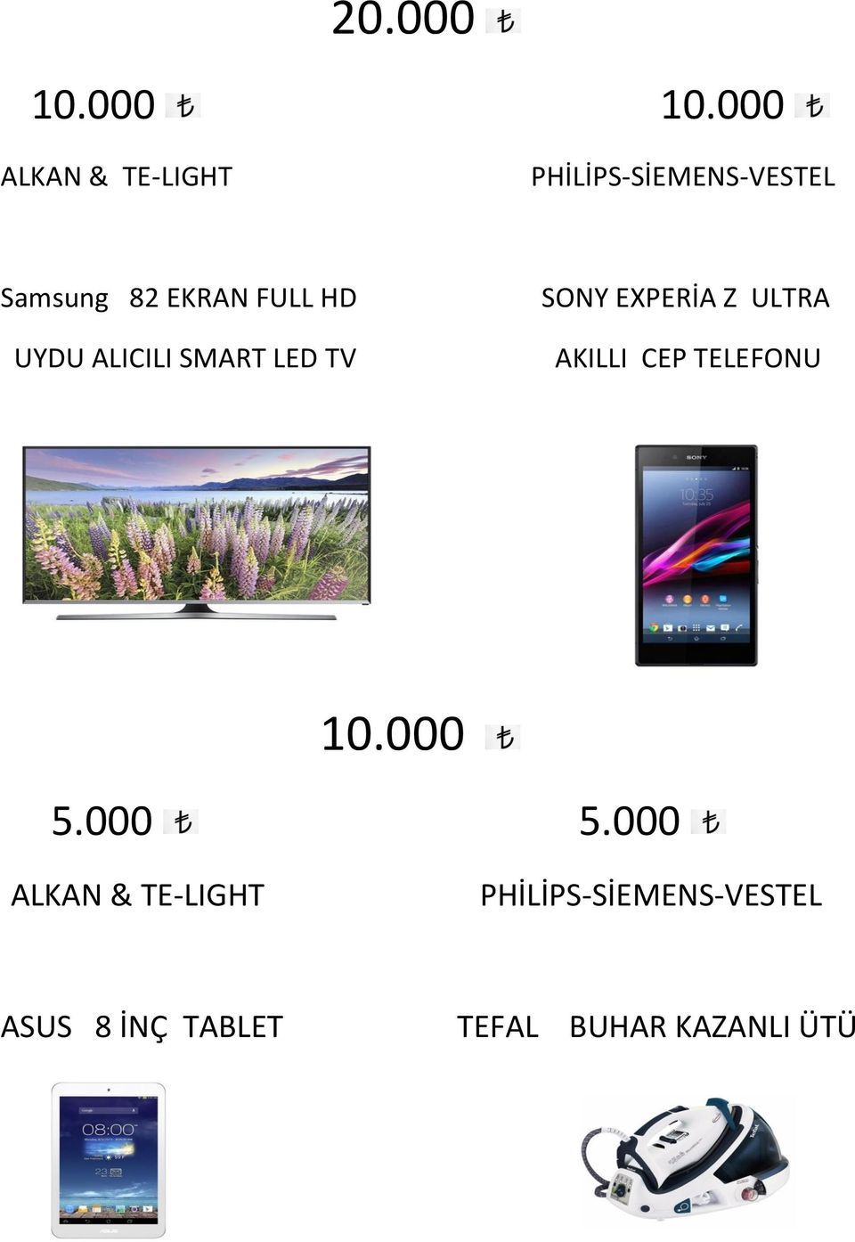 000 ALKAN & TE-LIGHT Samsung 82 EKRAN FULL HD UYDU