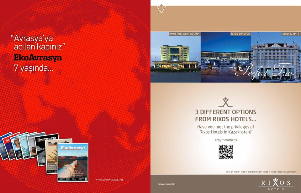 .. K Have you met the privileges of Rixos Hotels in Kazakhstan?