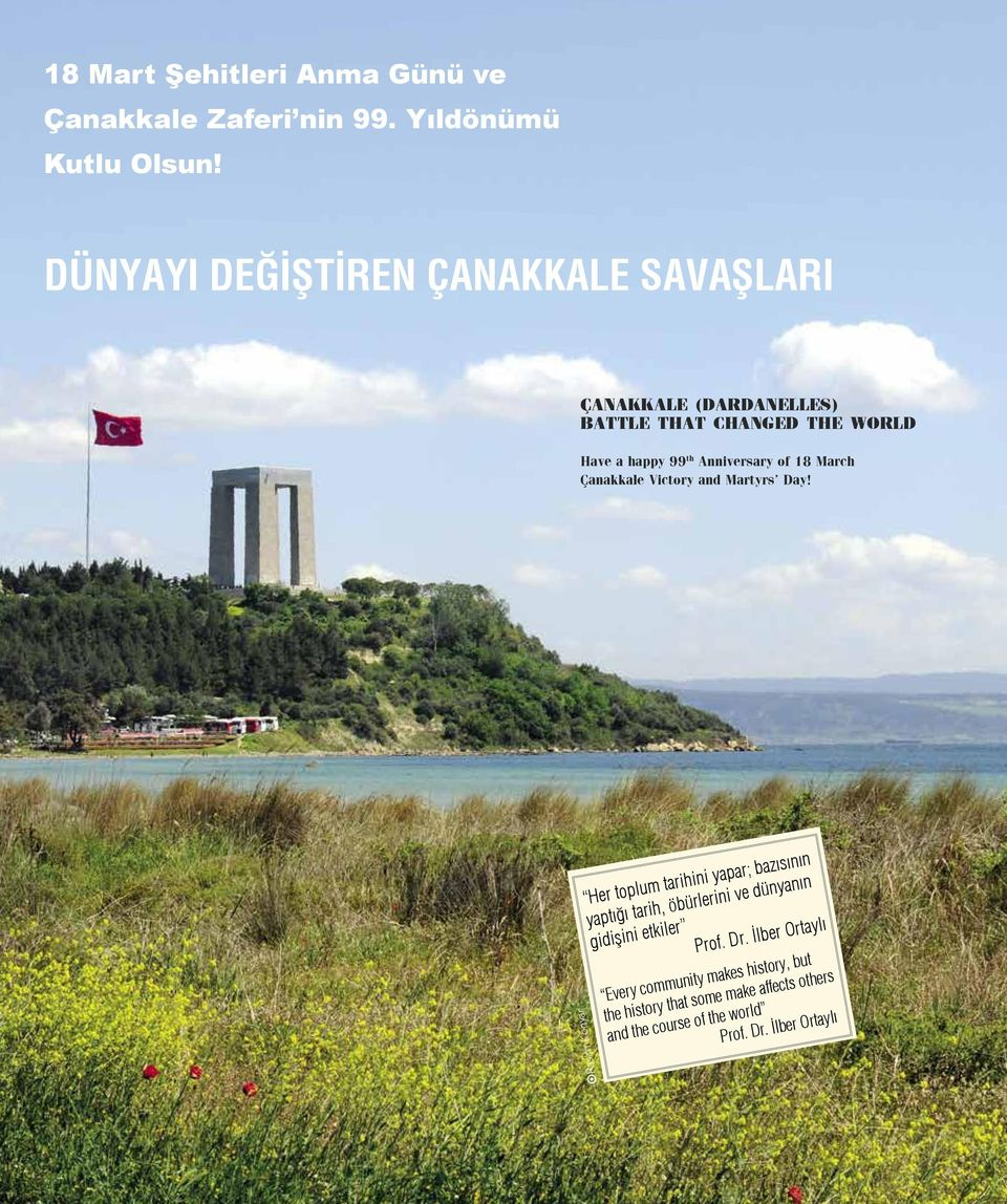 March Çanakkale Victory and Martyrs Day!