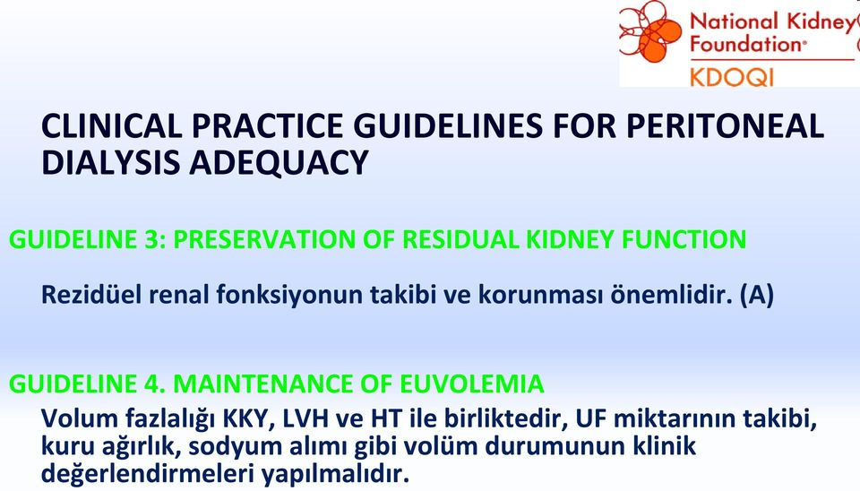 (A) GUIDELINE 4.
