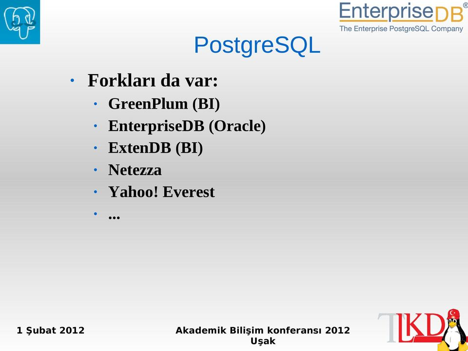 EnterpriseDB (Oracle)