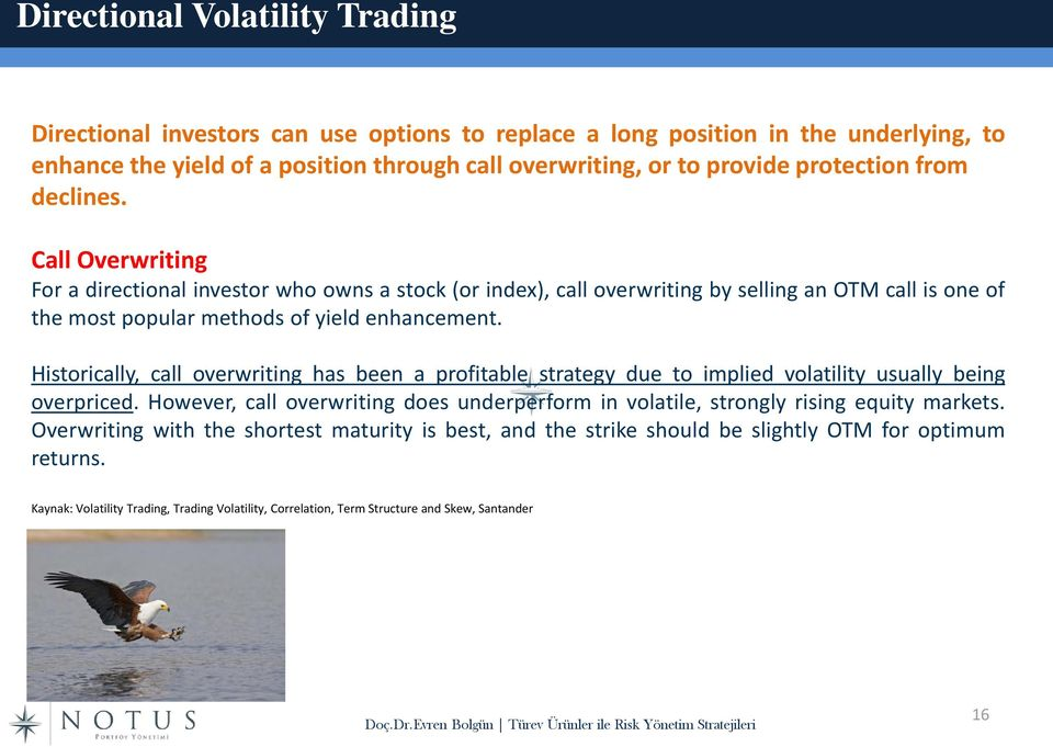 Historically, call overwriting has been a profitable strategy due to implied volatility usually being overpriced.