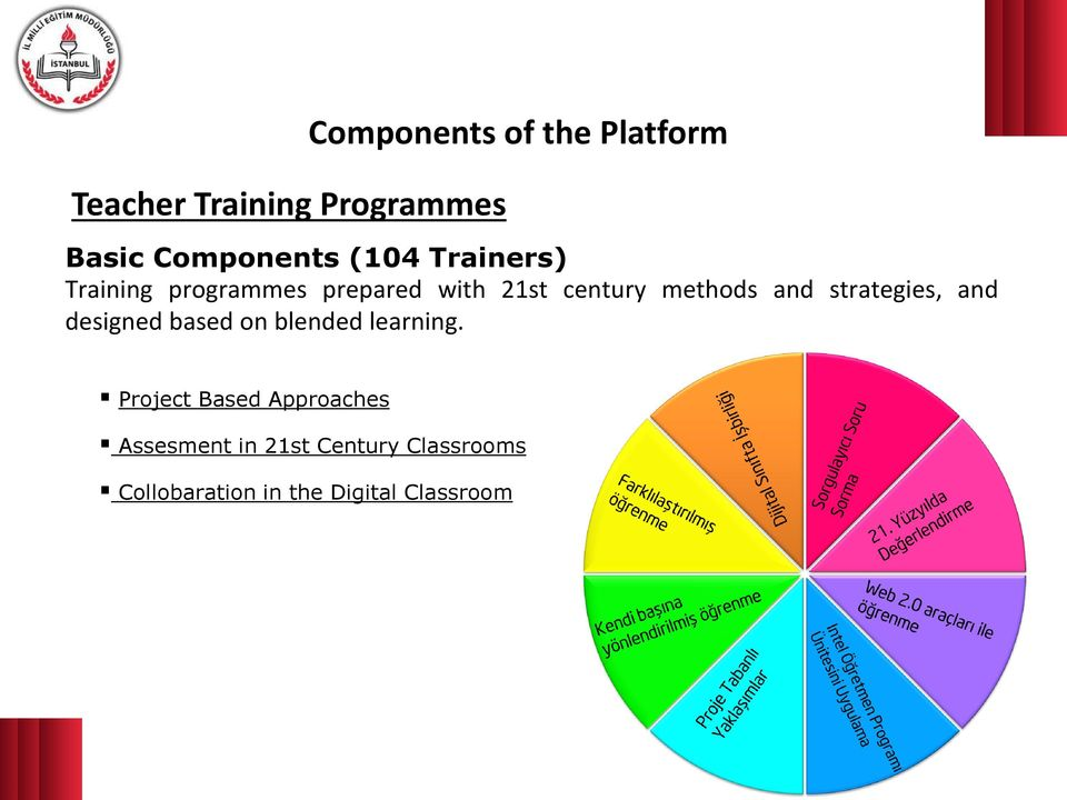 strategies, and designed based on blended learning.