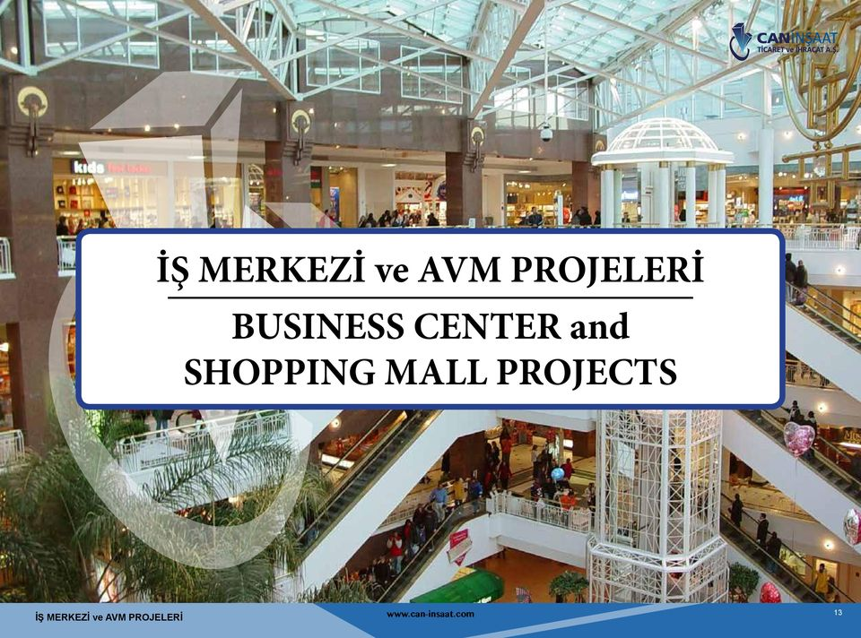 and SHOPPING MALL