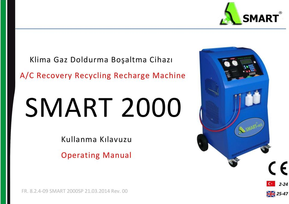 2000 Kullanma Kılavuzu Operating Manual FR.