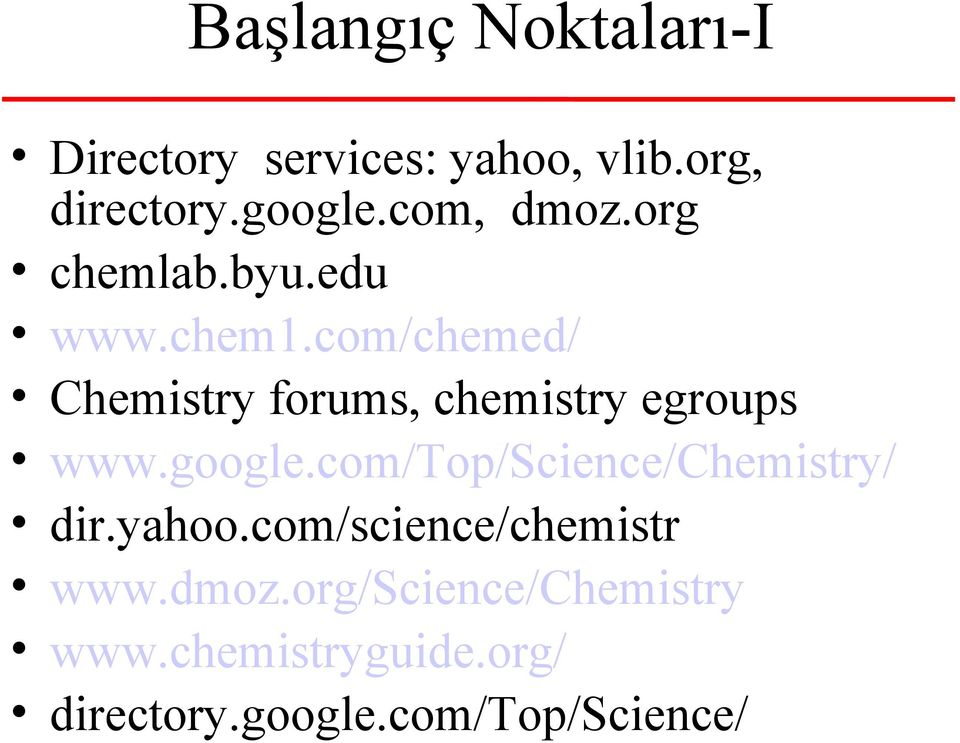 com/chemed/ Chemistry forums, chemistry egroups www.google.