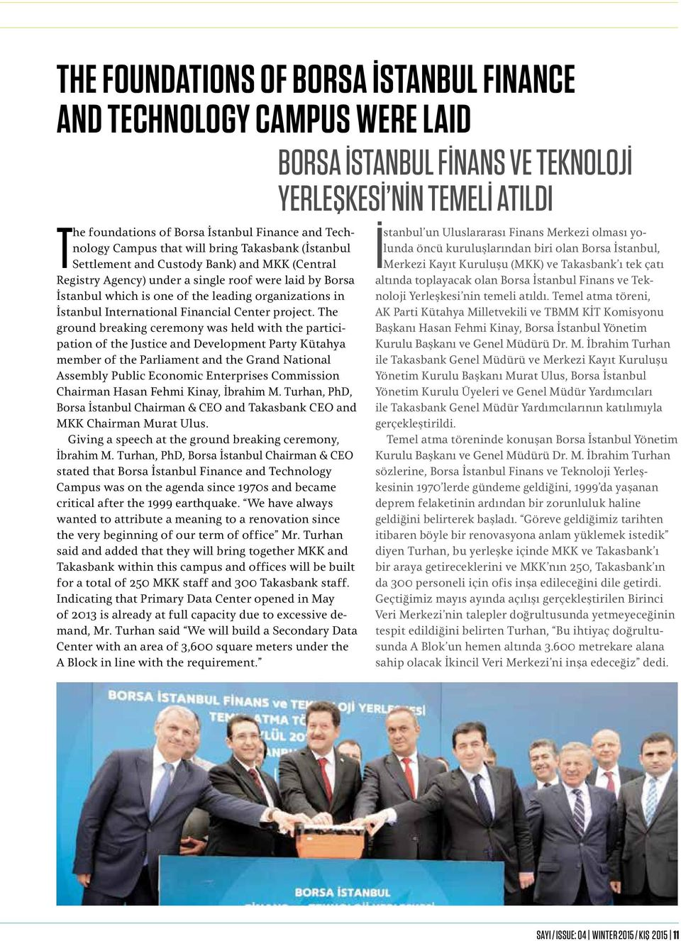 İstanbul International Financial Center project.