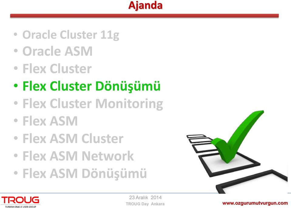 Flex Cluster Monitoring Flex ASM Flex