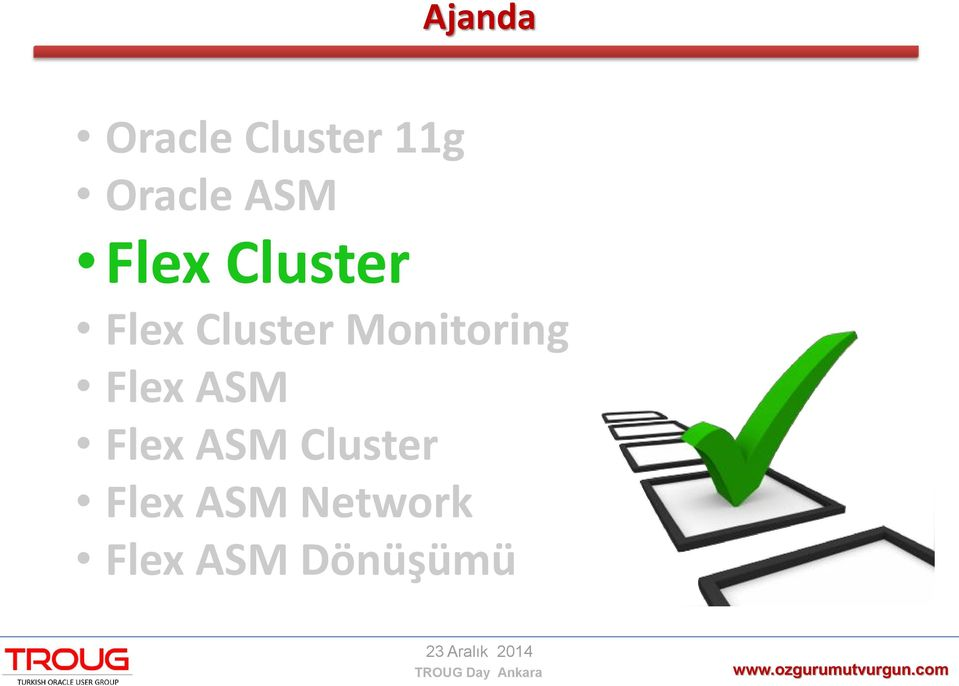 Monitoring Flex ASM Flex ASM