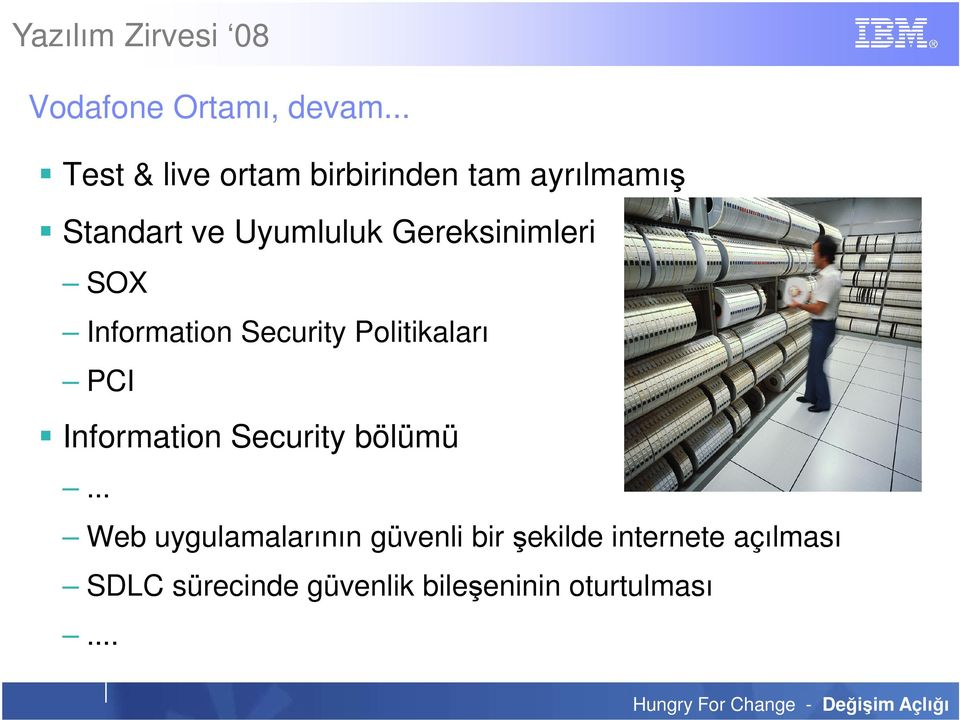Gereksinimleri SOX Information Security Politikaları PCI Information