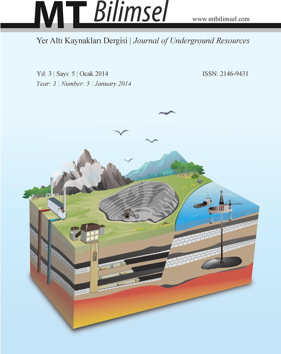 Journal of Underground Resources Yıl:
