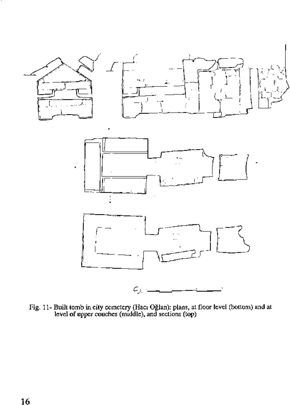 (Hacı Oğlan): plans, at floor level