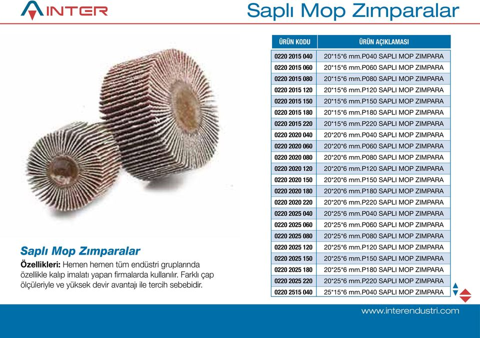 p080 SAPLI MOP ZIMPARA 0220 2015 120 20*15*6 mm.p120 SAPLI MOP ZIMPARA 0220 2015 150 20*15*6 mm.p150 SAPLI MOP ZIMPARA 0220 2015 180 20*15*6 mm.p180 SAPLI MOP ZIMPARA 0220 2015 220 20*15*6 mm.
