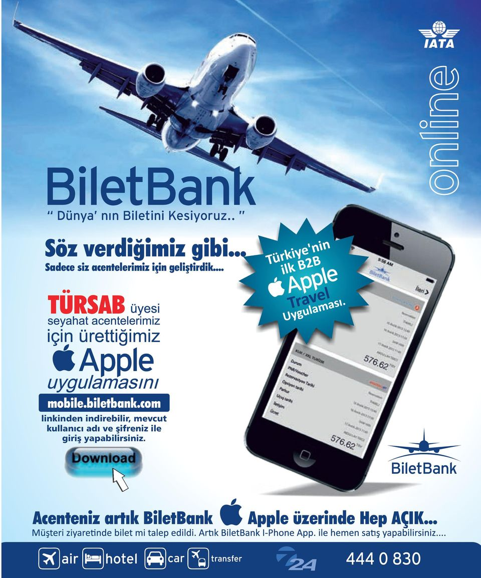 .. TÜRSAB Apple Apple mobile.biletbank.