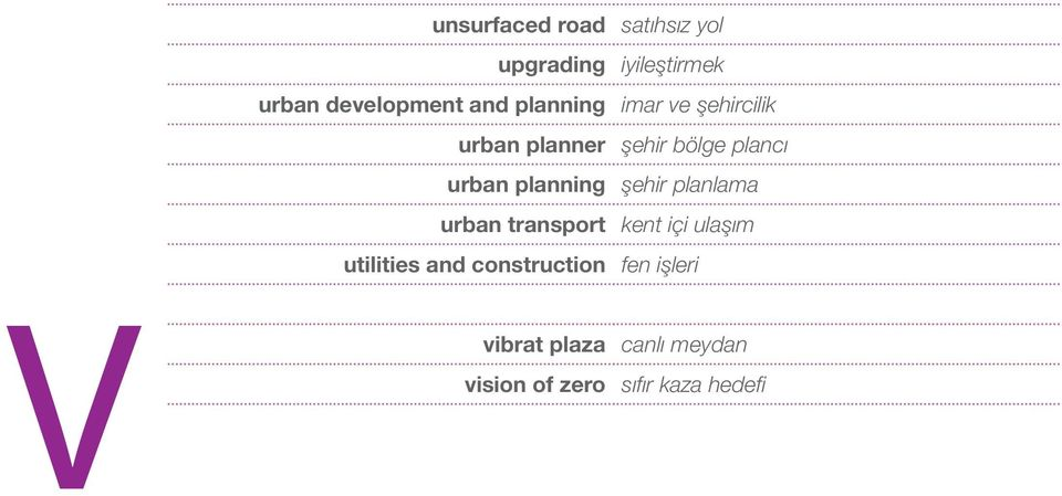 planning şehir planlama urban transport kent içi ulaşım utilities and
