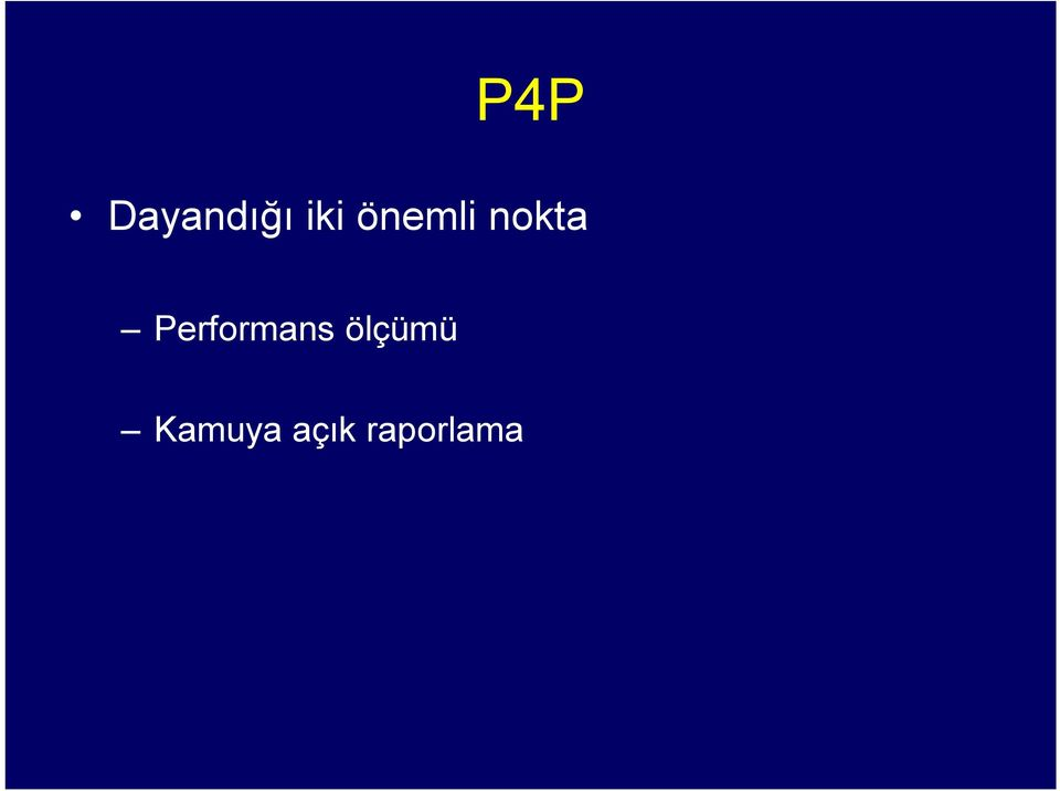 Performans ölçümü