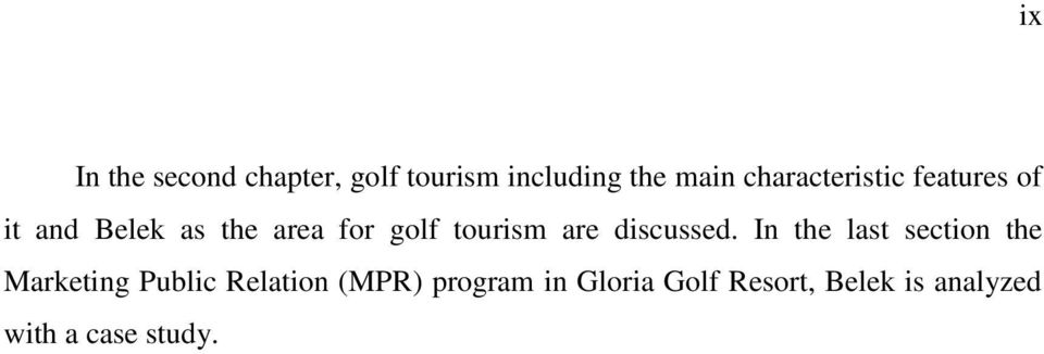 tourism are discussed.