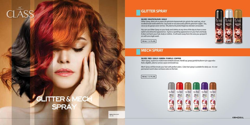 You can use Glitter Spray on your body and clothes at any time of the day to have a more stylish and attractive appearance. It gives a sparkling appearance on your hair and body.