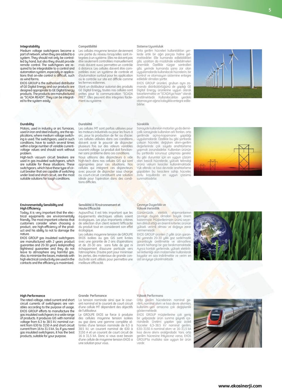 EKOS GROUP is the authorised distributor of GE Digital Energy and our products are designed appropriate to GE Digital Energy products. The products are manufactured as SCADA READY.
