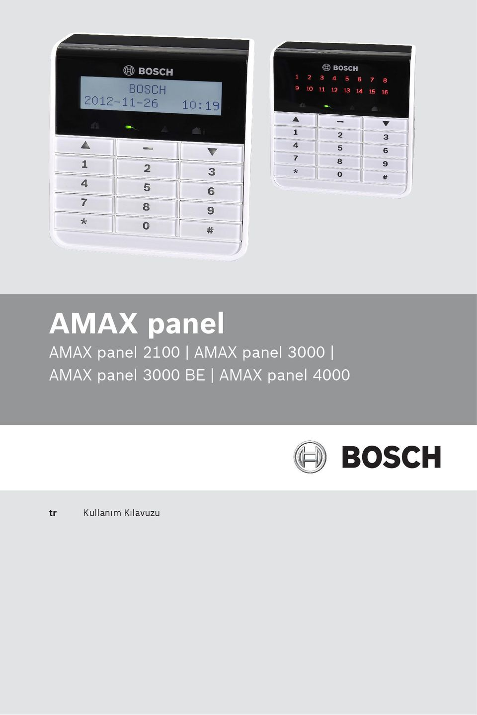 AMAX panel 3000 BE AMAX
