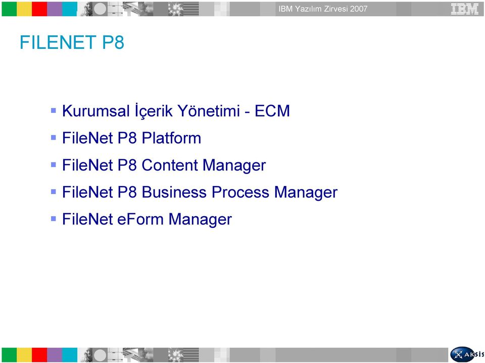 Content Manager FileNet P8 Business