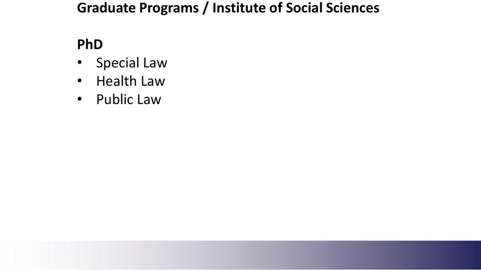 Sciences PhD Special