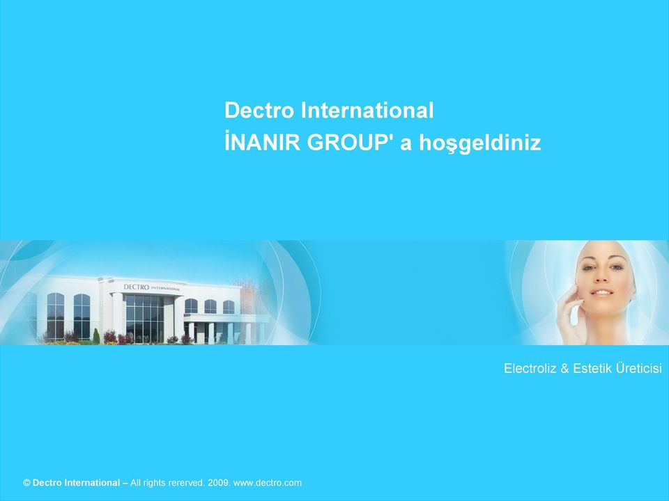 Dectro International Tous All rights