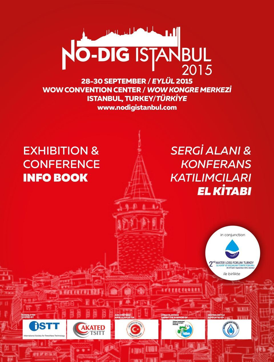 com EXHIBITION & CONFERENCE INFO BOOK SERGİ ALANI &