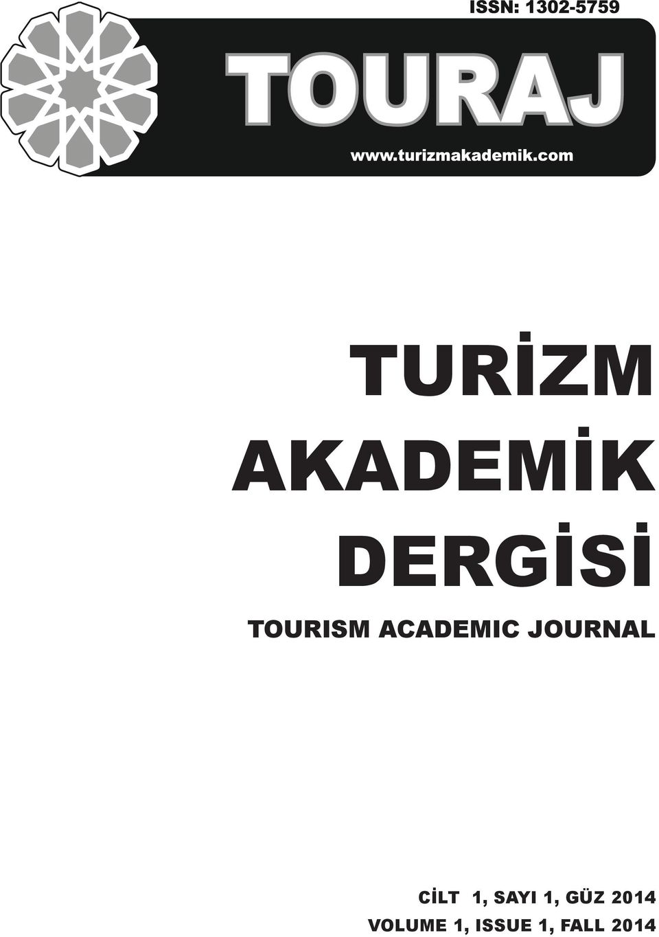 ACADEMIC JOURNAL CİLT 1, SAYI