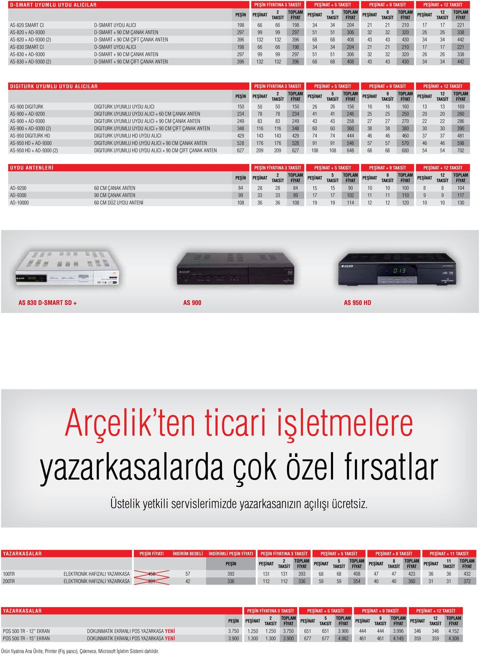 ANTEN 97 99 99 97 1 1 306 3 3 30 6 6 338 AS-830 + AD-9300 () D-SMART + 90 CM ÇİFT ÇANAK ANTEN 396 13 13 396 68 68 408 43 43 430 34 34 44 9 1 DIGITURK UYUMLU UYDU ALICILAR INA 3 + + 9 + 1 AS-900