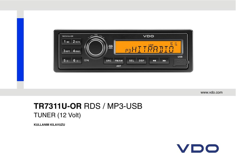 RDS / MP3-USB