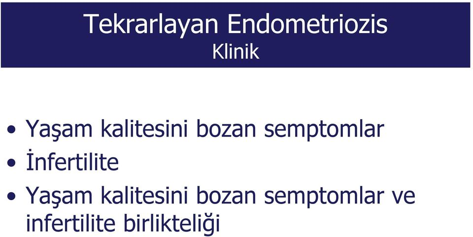 İnfertilite  ve infertilite