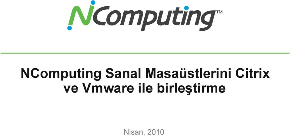 Citrix ve Vmware