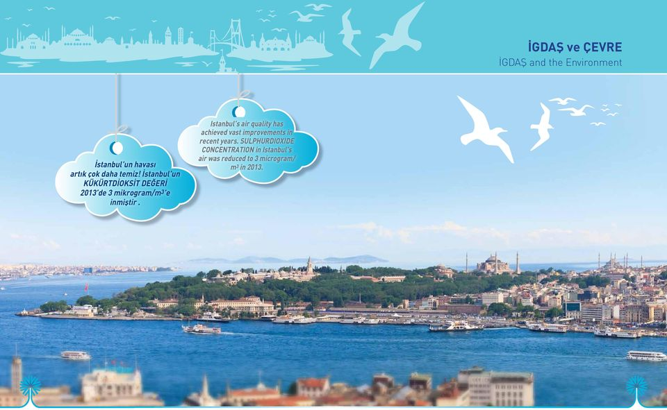 Istanbul s air quality has achieved vast improvements in recent years.