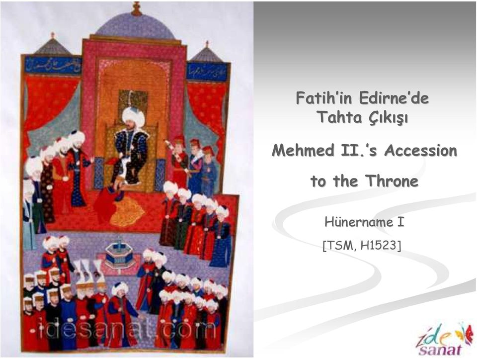 s Accession to the Throne