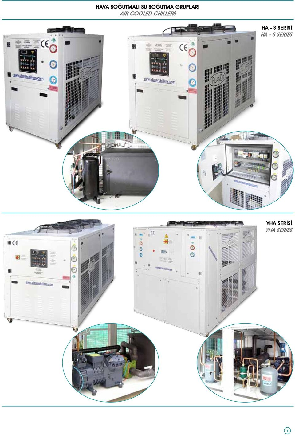 COOLED CHILLERS HA - S