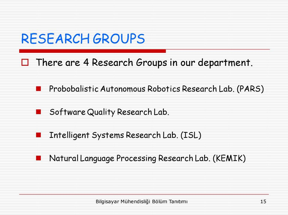(PARS) Software Quality Research Lab.