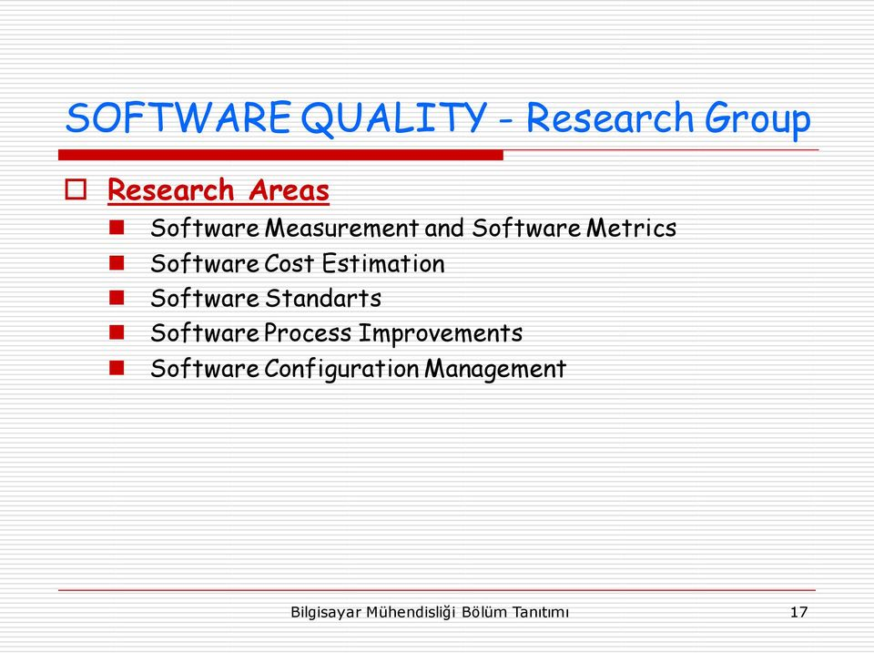 Software Standarts Software Process Improvements Software
