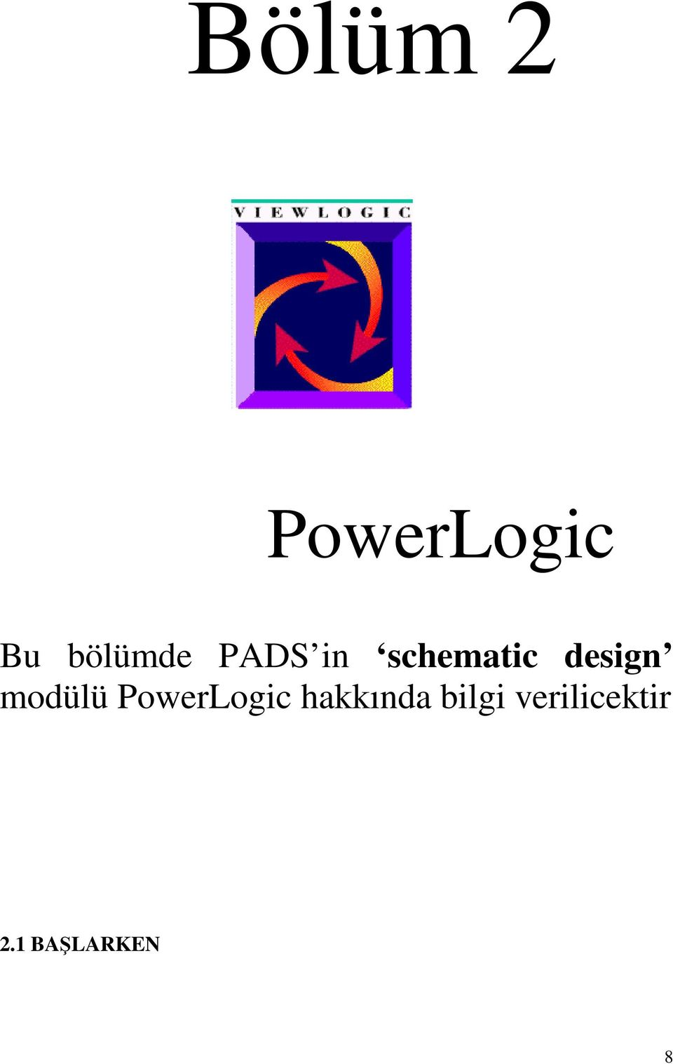 design modülü PowerLogic