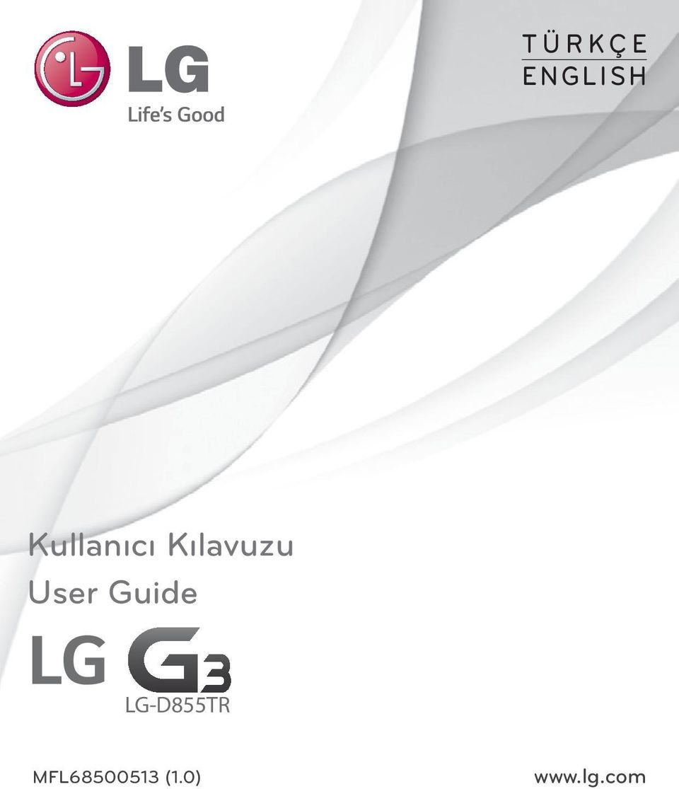 User Guide LG-D855TR