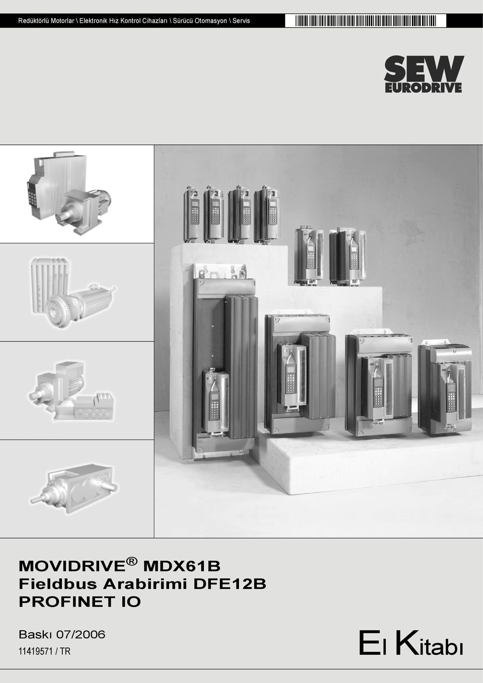 MOVIDRIVE MDX61B Fieldbus Arabirimi