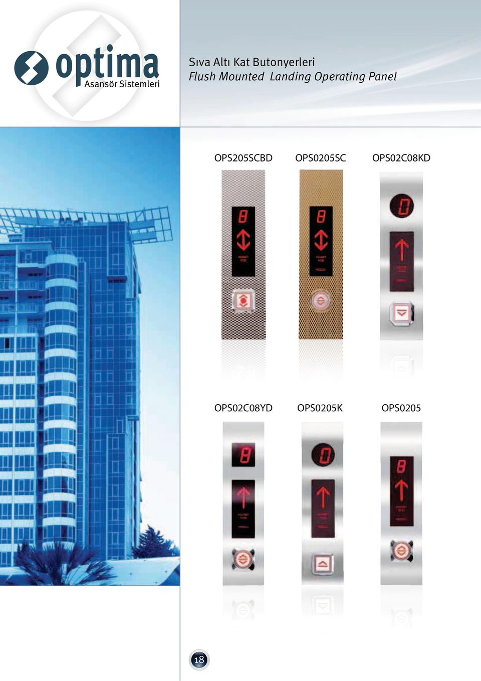 Panel OPS205SCBD OPS0205SC