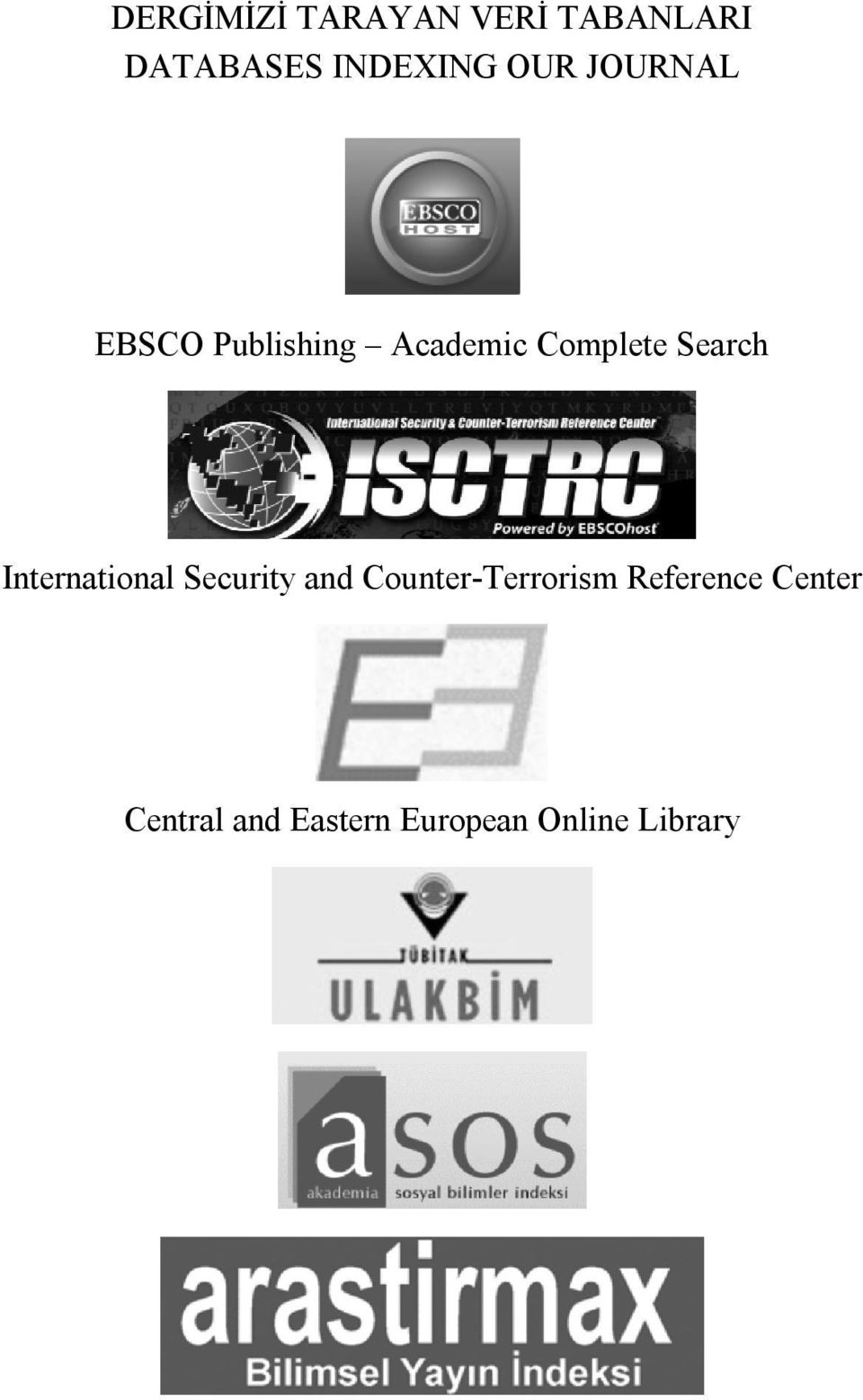 Search International Security and Counter-Terrorism