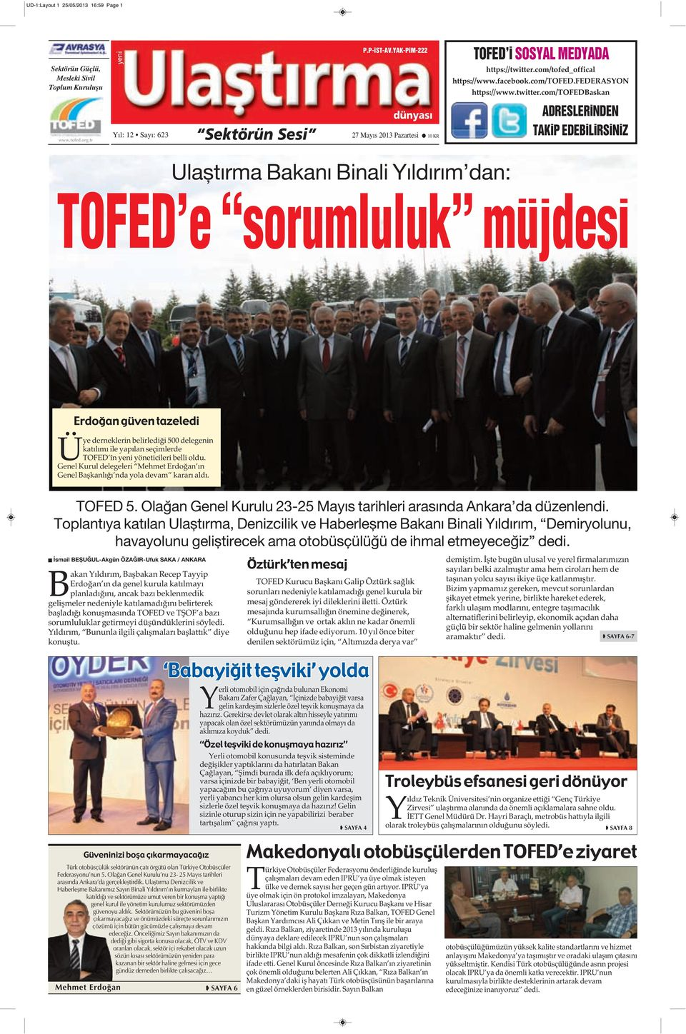com/tofed_offical https://www.facebook.com/tofed.federasyon https://www.twitter.