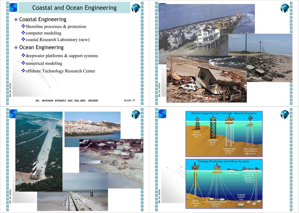 Engineering deepwater platforms & support systems numerical modeling
