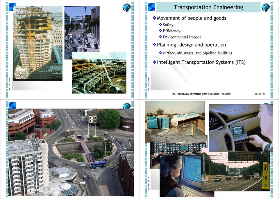 pipeline facilities Intelligent Transportation Systems (ITS) DR.