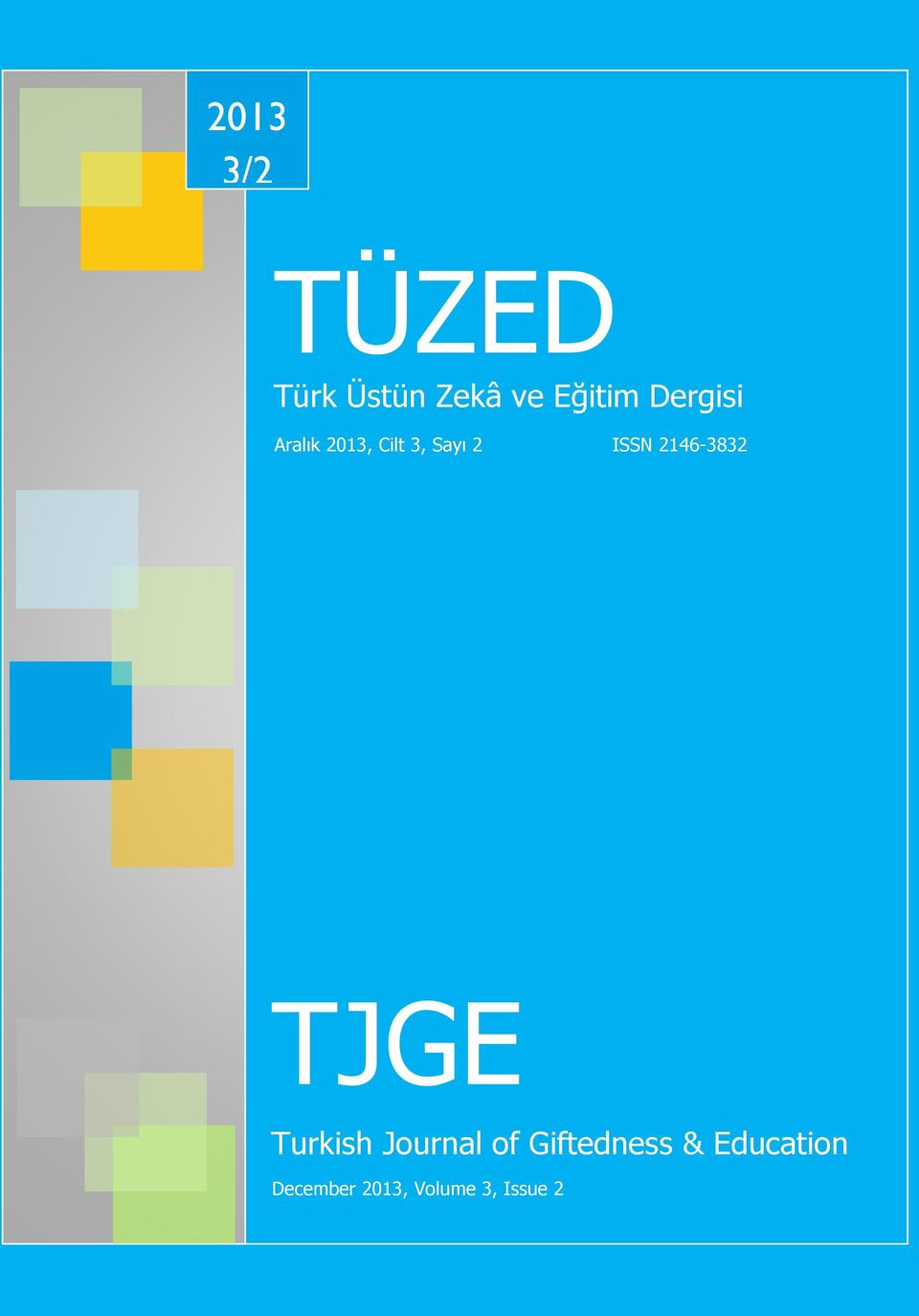 2146-3832 TJGE Turkish Journal of